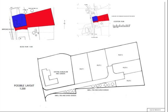 Thumbnail Land for sale in The Street, Sporle, King's Lynn