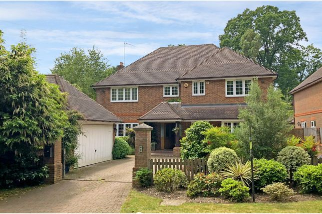 Thumbnail Detached house for sale in Brackendale Road, Camberley