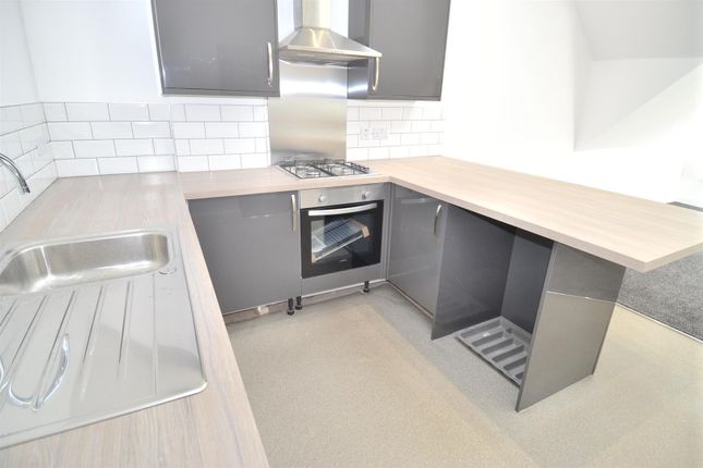 Thumbnail Flat to rent in Burleigh Road, Loughborough