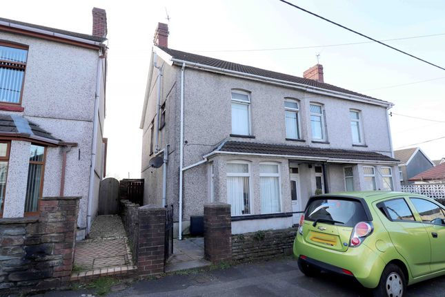 Thumbnail Semi-detached house for sale in Danybryn Road, Swansea
