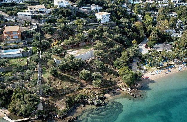 Thumbnail Land for sale in Dafnila Bay Land, Corfu, Ionian Islands, Greece