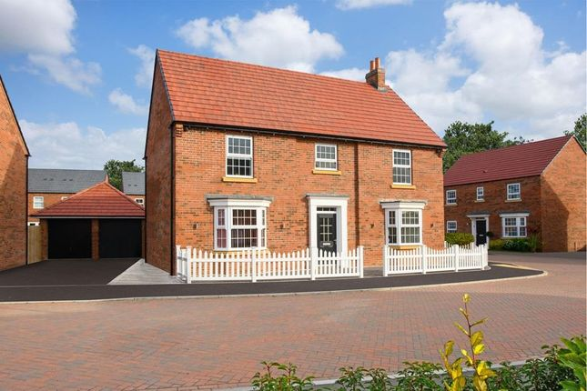 "Thumbnail Detached house for sale in ""Henley"" at Old Stowmarket Road, Woolpit, Bury St. Edmunds"