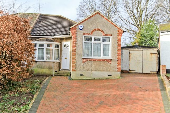 Thumbnail Semi-detached bungalow for sale in Sutton Close, Eastcote, Pinner