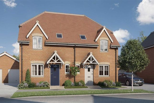 Thumbnail Semi-detached house for sale in Whittington Crescent, Wantage