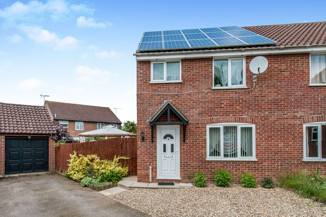 Thumbnail Semi-detached house for sale in Spiers Way, Roydon, Diss