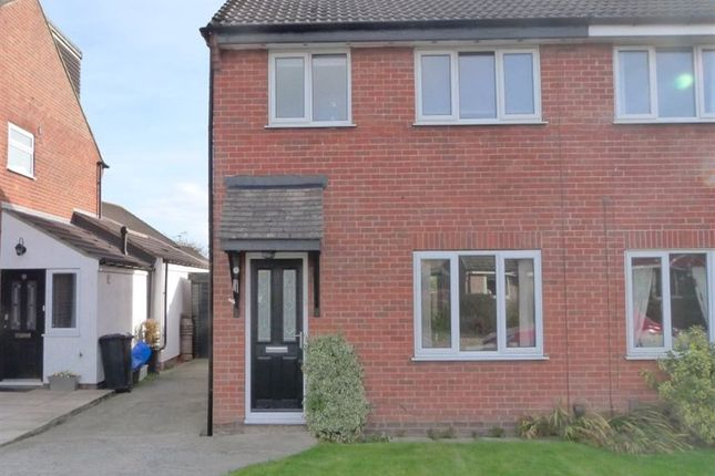 Thumbnail Semi-detached house to rent in Crowberry Drive, Harrogate