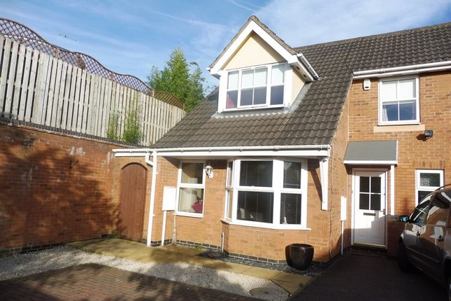 Thumbnail Semi-detached house for sale in Earlsfield Close, Wootton, Northampton