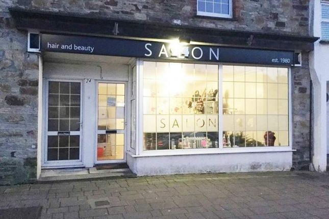 Thumbnail Retail premises for sale in 24 Lower Bore Street, Bodmin