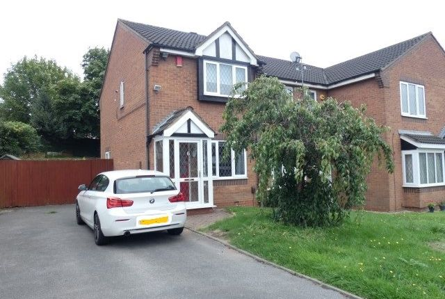 Thumbnail End terrace house for sale in Shelley Drive, Erdington, Birmingham