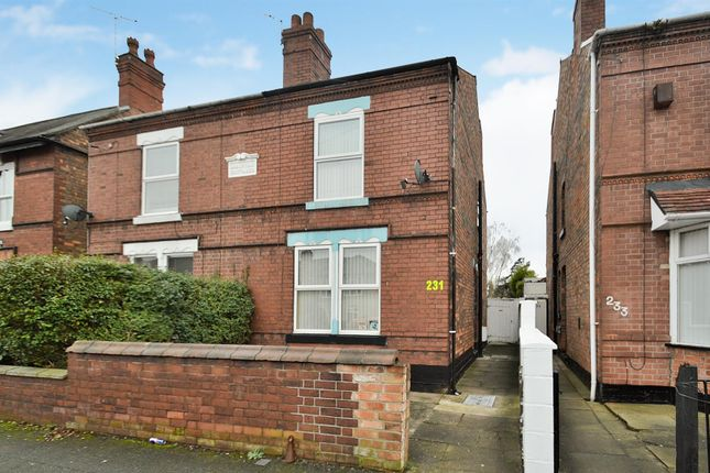 Thumbnail Semi-detached house for sale in College Street, Long Eaton, Nottingham