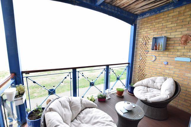Balcony of Trujillo Court, Callao Quay, Eastbourne BN23