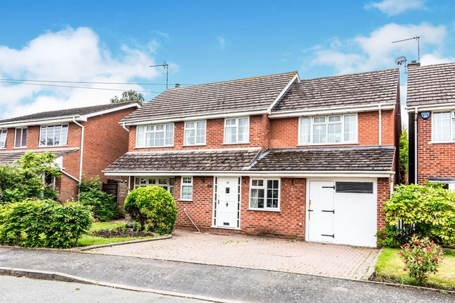 Thumbnail Detached house for sale in Croft Close, Elford, Tamworth