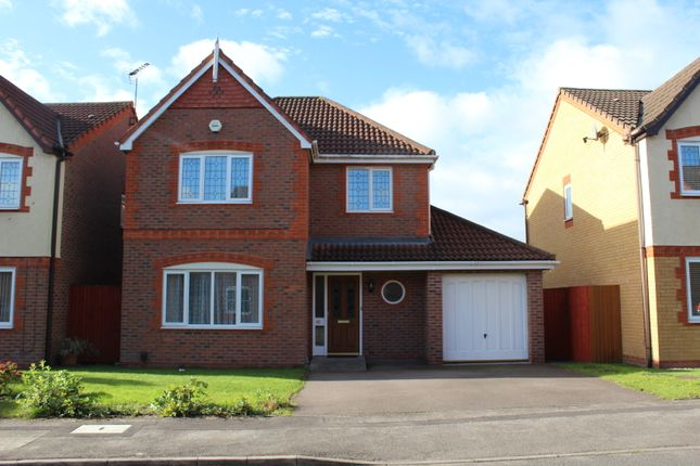 Thumbnail Detached house to rent in Stockley Crescent, Shirley, Solihull, West Midlands