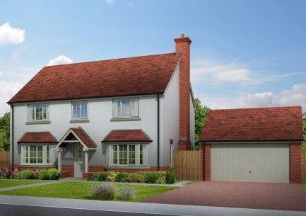 Thumbnail Detached house for sale in Quarry Field, Lugwardine, Herefordshire