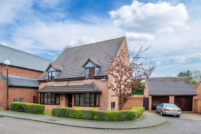Thumbnail Detached house for sale in Hugh Parke Close, Loughton, Milton Keynes