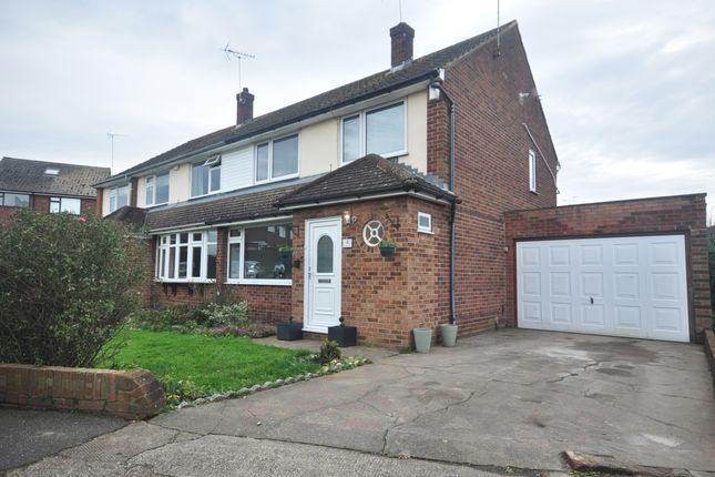 Thumbnail Semi-detached house to rent in Copperfield Close, Gravesend