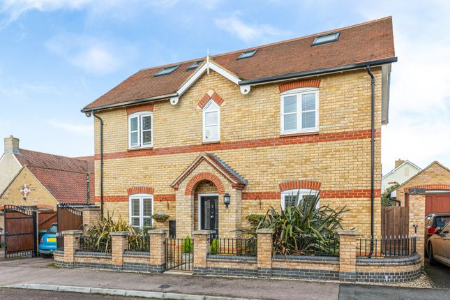 Thumbnail Detached house for sale in Earnshaw Drive, Fairfield, Hitchin, Herts