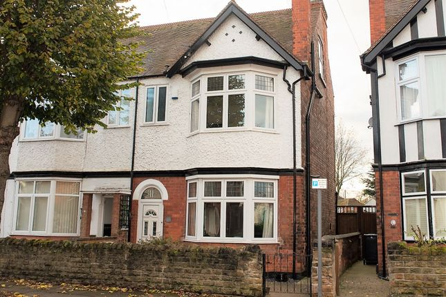 Thumbnail Semi-detached house for sale in Balmoral Avenue, West Bridgford