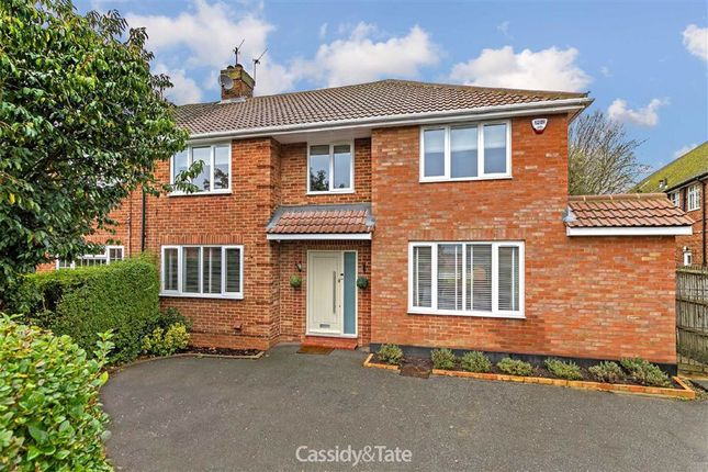 Thumbnail Semi-detached house for sale in Chiswell Green Lane, St Albans, Hertfordshire