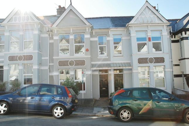 Thumbnail Town house to rent in Endsleigh Park Road, Plymouth
