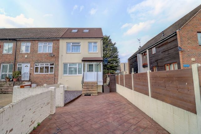 Thumbnail End terrace house for sale in Overton Road, London