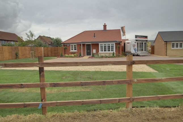 Thumbnail Detached bungalow for sale in The Hereward On Shared Equity, Mayfield Gardens, Baston, Peterborough