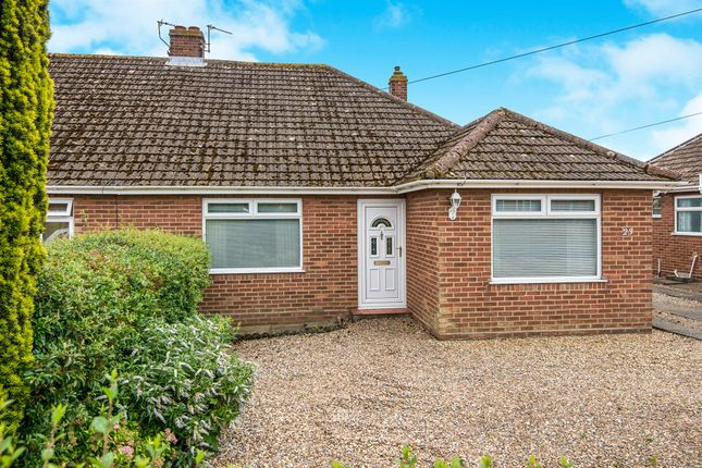 Thumbnail Semi-detached bungalow for sale in Wood View Road, Hellesdon, Norwich