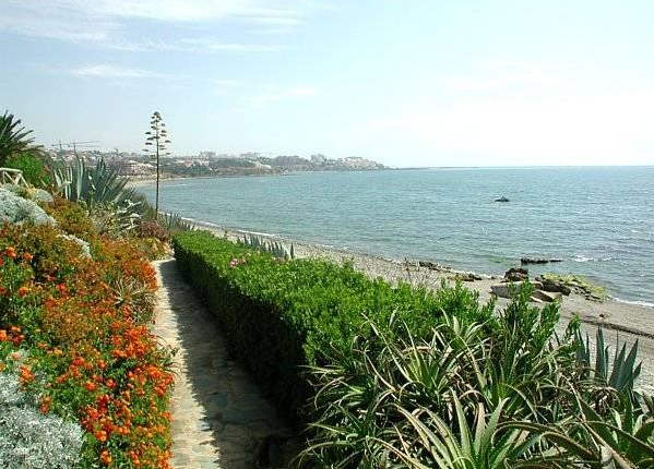 Communal Gardens of Estepona, Costa Del Sol, Andalusia, Spain