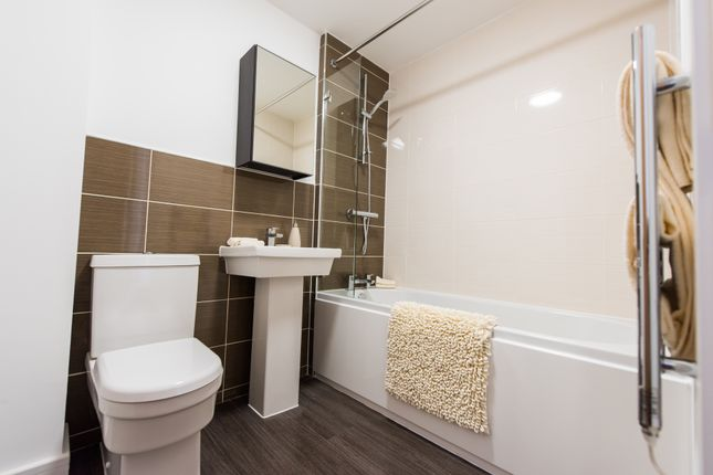 Thumbnail Flat to rent in Princeton Place, Liverpool