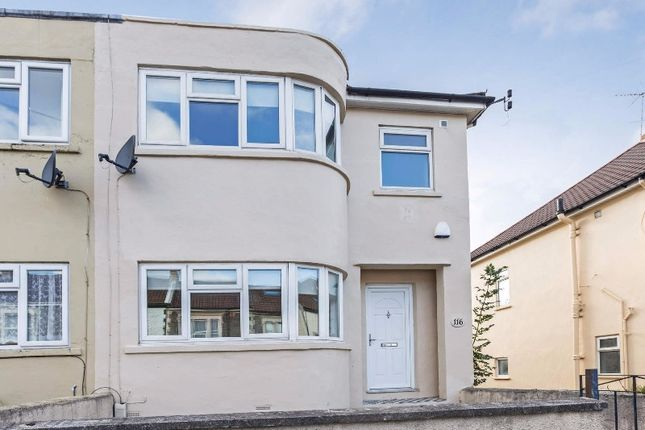 Thumbnail Flat to rent in Soundwell Road, Ashley, Bristol