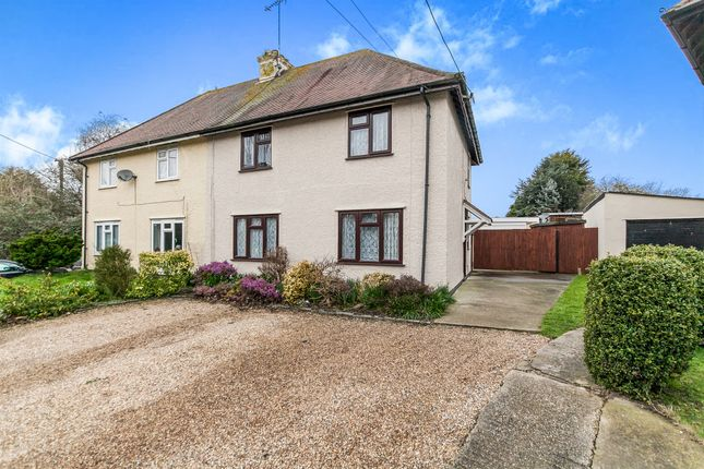 Thumbnail Semi-detached house for sale in Wix Road, Ramsey, Harwich