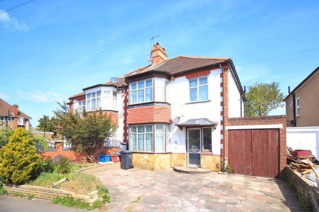 Thumbnail Semi-detached house for sale in Sutton Road, Heston