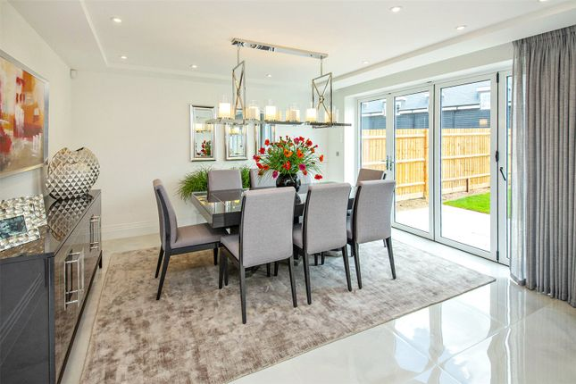 Show Home Dining of The Volte At The Ridings, Aldenham, Watford, Hertfordshire WD25