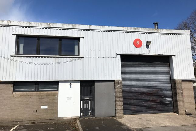 Thumbnail Industrial to let in Unit 5, Ty Verlon Industrial Estate, Barry