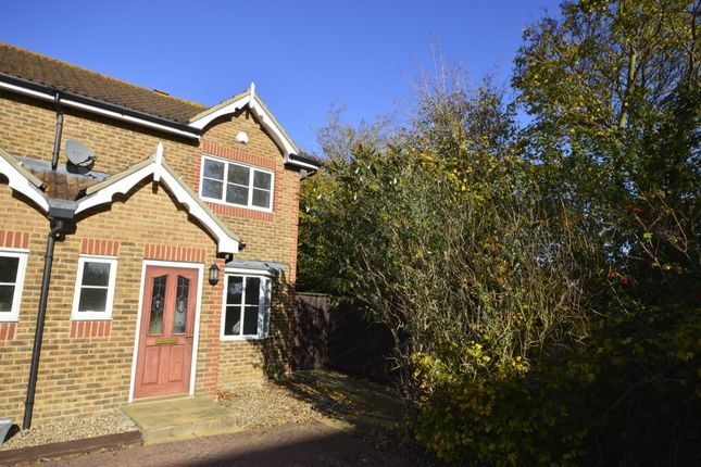 Thumbnail Semi-detached house to rent in Lodge Hill Lane, Chattenden, Rochester