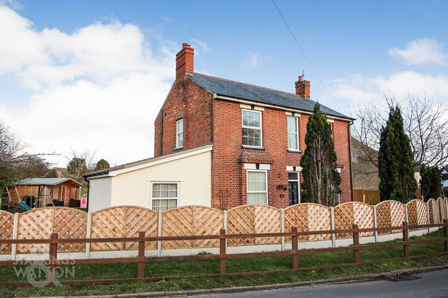Thumbnail Detached house for sale in The Street, Gillingham, Beccles
