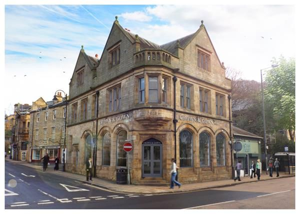 Thumbnail Restaurant/cafe to let in Units 1 & 2, 2 Crown Street, Hebden Bridge