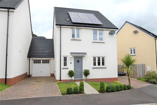 Thumbnail Detached house to rent in Elizabeth Penton Way, Bampton, Tiverton, Devon