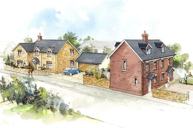 Thumbnail Detached house for sale in Phillips Hill, Marnhull, Sturminster Newton, Dorset