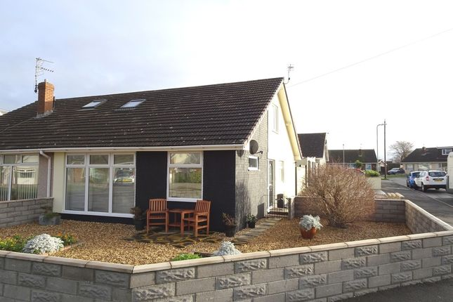 Thumbnail Semi-detached bungalow for sale in Cheltenham Road, Nottage, Porthcawl