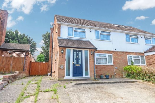 3 bed semi-detached house for sale in Barton Road, Langley, Slough SL3