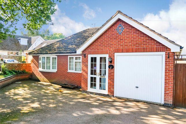 Thumbnail Bungalow for sale in Goodes Avenue, Syston, Leicester, Leicestershire