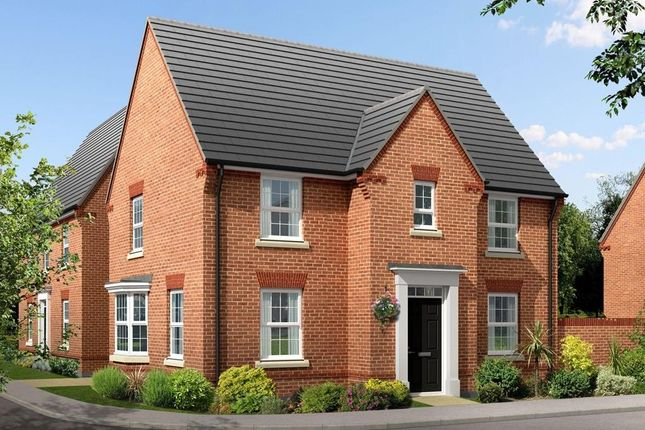 "Thumbnail Detached house for sale in ""Hollinwood"" at Kingston Way, Market Harborough"