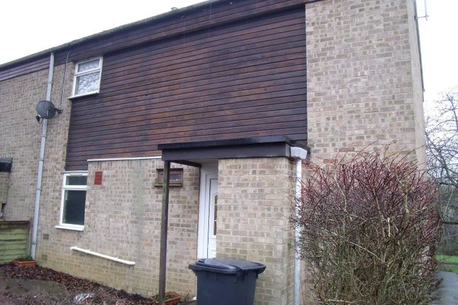 Thumbnail Terraced house to rent in Wade Meadow Court, Northampton
