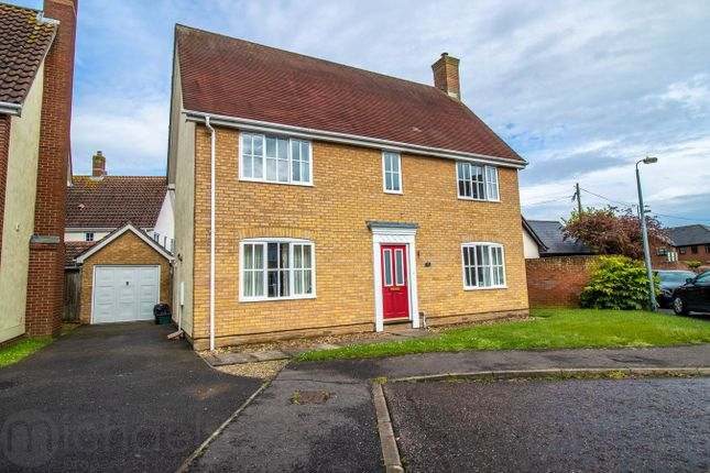 Thumbnail Detached house for sale in Barn Fields, Stanway, Colchester