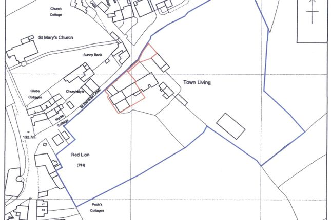 Os Plan of Barns For Conversion With Planning Permission, Blenheim Lane, Exbourne EX20