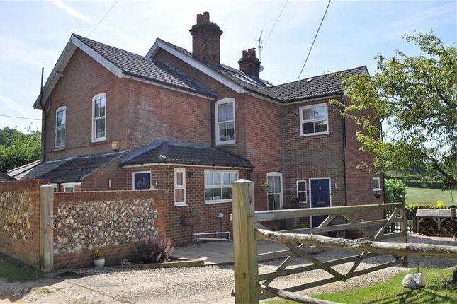 Thumbnail Semi-detached house for sale in Warren Corner, Ewshot, Farnham