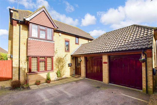 Thumbnail Detached house for sale in Scholey Close, Halling, Rochester, Kent