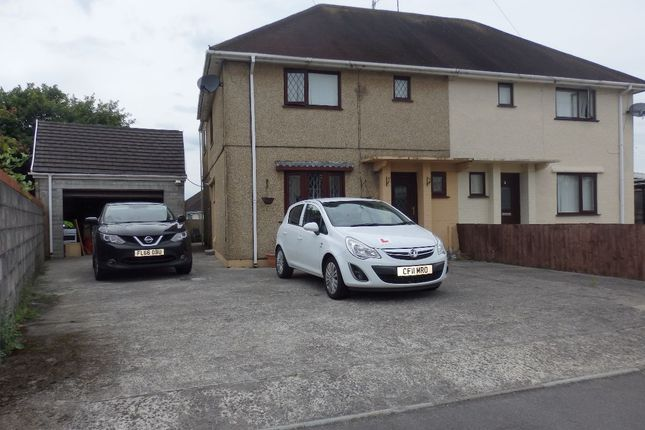 Thumbnail Semi-detached house for sale in Trallwm Road, Llanelli