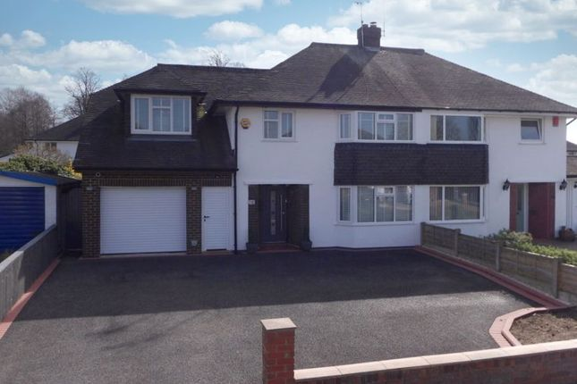 Thumbnail Semi-detached house for sale in Brereton Drive, Nantwich, Cheshire